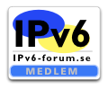 Edvina AB is a founding member of the Swedish IPv6 Forum
